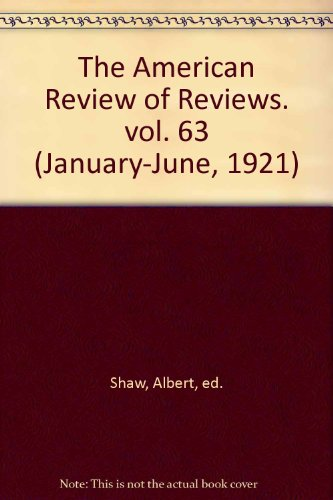THE AMERICAN REVIEW OF REVIEWS - JULY, - Reviews Co Tiffany And
