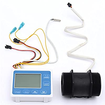 Flow Water Sensor Meter Display Quantitative Control 5-300L/min