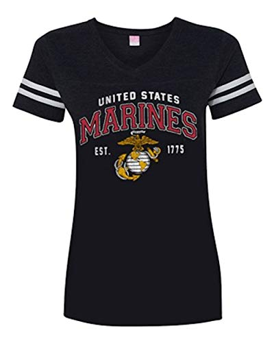 Joe Blow Marines XL Cotton Military V-Neck T-Shirt