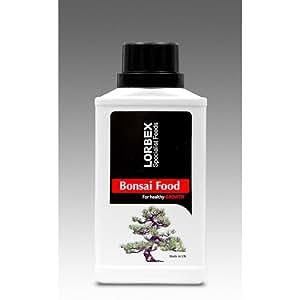 Bonsai Lorbex/fertilizante alimento 250 ml