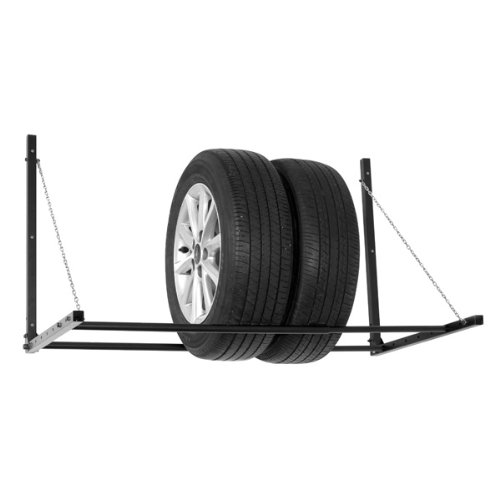 Carpoint CPT0613008 Wheel and Tyre Rack Wall Mountable and Foldable