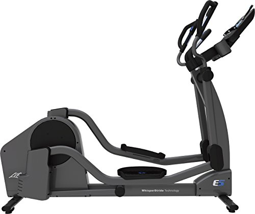 Life Fitness E5 Track and Cross Trainer, Titanium