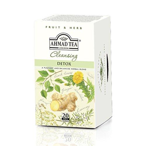 Ahmad Tea Detox, 20 Count (Pack Of 6)