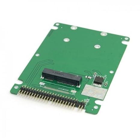 Mini PCI-E MSATA psata a 44pin IDE de 2,5 disco duro caso recinto ...