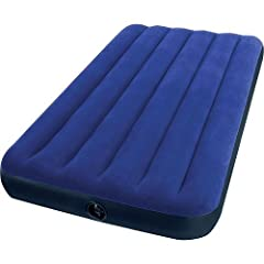 """Intex Twin 8.75"""" Classic Downy Inflatable Airbed Mattress (1)"""