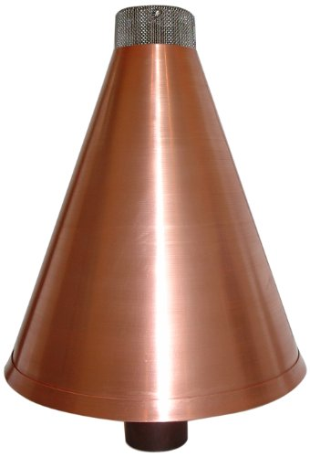 Burnaby Manufacturing Propane Tiki Torch Cone, 1-Inch, Copper Color by Burnaby Manufacturing Ltd