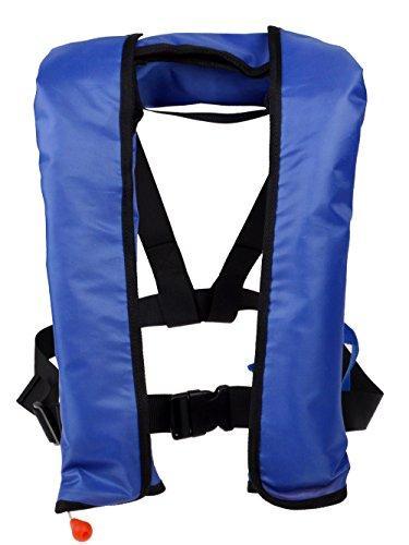 TMS LOT 2~Automatic/Manuel Life Jacket Vest Auto Inflatable PFD Survival Floatation