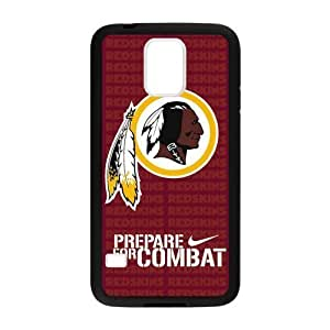 Hoomin Washington Redskins Prepare For Combat Samsung Galaxy S5 Cell Phone Cases Cover Popular Gifts(Laster Technology)