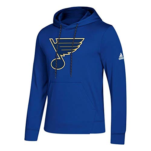 adidas St. Louis Blues NHL Men's Goalie Pullover Hooded ()
