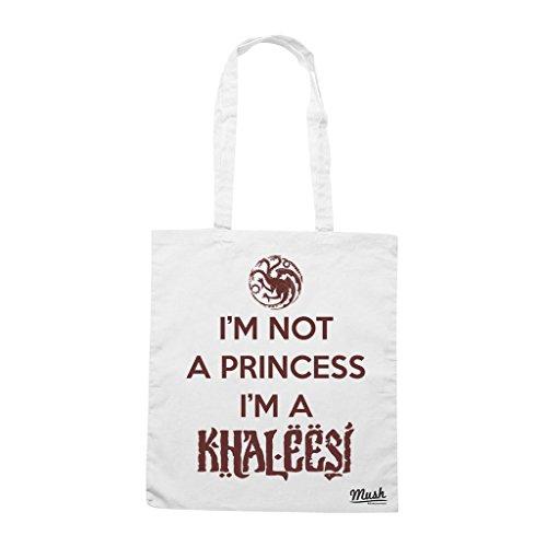 Borsa Im Not A Princess Im A Khaleesi - Bianca - Film by Mush Dress Your Style