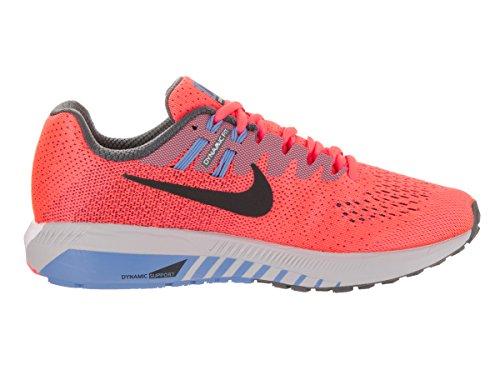 NIKE Womens Air Zoom Structure 20 Running Shoe Hot Punch/Black Dark Grey PBHVXFsBSd