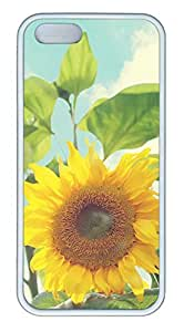Landscape Sunflower - iPhone 5S Case Funny Lovely Best Cool Customize White Cover by Maris's Diary
