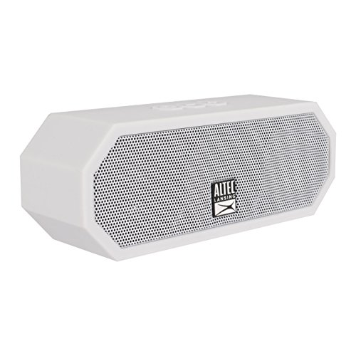 (Altec Lansing IMW457 Jacket H2O Indoor Outdoor Bluetooth Speaker, White)