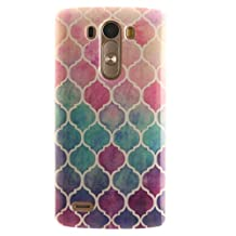 """LG G3 Case, SsHhUu Ultra Slim Soft TPU Silicone Protective Painting Art Cover for LG G3 D855 D852 5.5"""""""