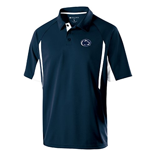 Ouray Sportswear NCAA Penn State Nittany Lions Men's Avenger Polo Shirts, Medium, Navy/White ()