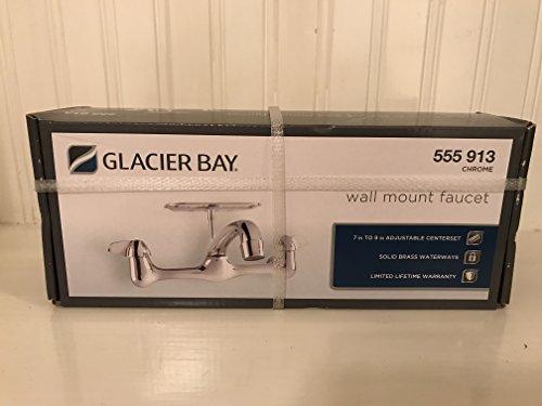 Glacier Bay - Wall Mount Faucet - Chrome Finish