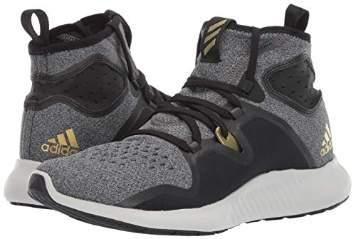 adidas Women's Edgebounce, Black/Gold Metallic, 5.5 M US by adidas (Image #5)