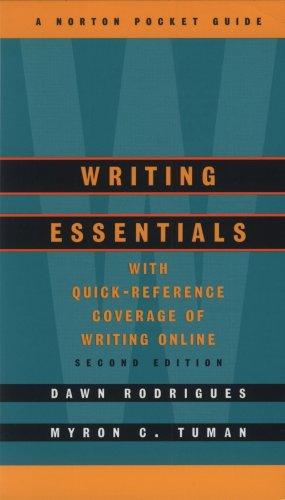 Writing Essentials: A Norton Pocket Guide (Second Edition)  (Norton Pocket Guides)
