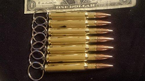 Engraved bullet bottle opener chains