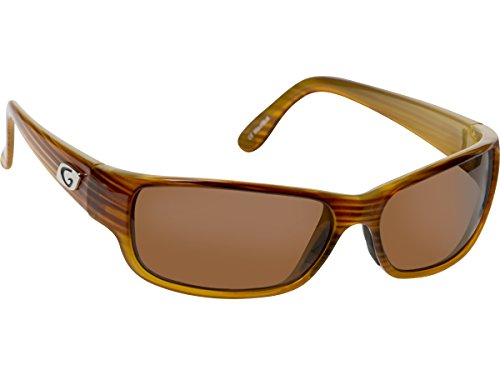 Guideline Eyegear Current Sunglasses, Crystal Toffee Drift Frame, Freestone Brown Lens, - Eyewear Drift