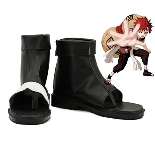 Bromeo NARUTO Anime Gaara Cosplay Schuhe