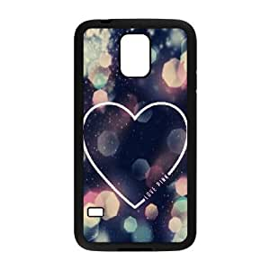 Love Pink The Unique Printing Art Custom Phone Case for SamSung Galaxy S5 I9600,diy cover case ygtg568019