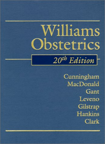 Williams Obstetrics, 20th Edition