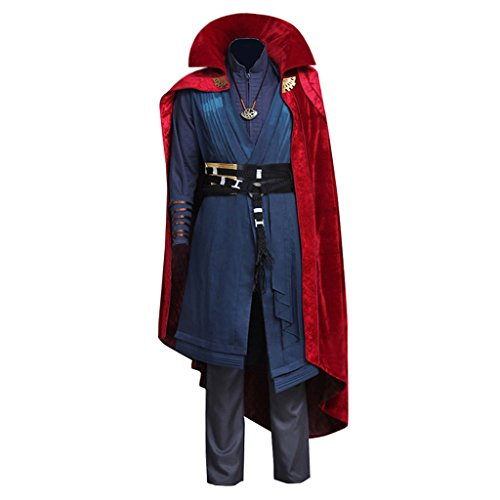 CosplayDiy Men's Suit for Doctor Strange Cosplay Costume with Cloak cm -