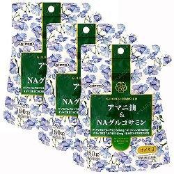 アマニ油&NAグルコサミン【3本セット】日本製粉 B01BM07J0K