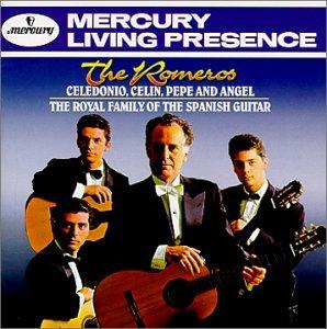 Los Romeros - The Romeros Celedonio, Celin, Pepe, And Angel The Royal Family Of The Spanish Guitar - Zortam Music