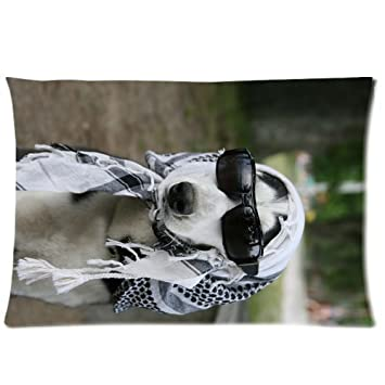 Carcasa Home ropa de cama funda de almohada cute pet perro Canis lupus familiaris Diy un lado rectangular fundas de almohada tamaño estándar 20 x 30 - 3: ...