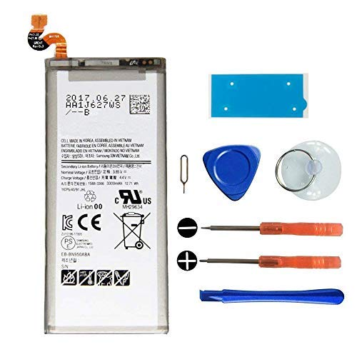 KNONEW New Replacement OEM Battery EB-BN950ABA for Samsung Galaxy Note 8 N950 3300mAh Li-ion Battery (Compatible with All Galaxy Note 8 Carriers) Tools