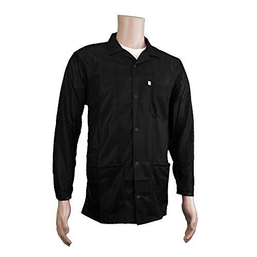 Statictek 9010 Black Fabric Esd Safe Snap Cuffs Collar