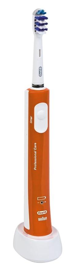 Oral B TZ500 orange - Braun Oral-B TriZone 500 Cepillo de dientes eléctrico naranja