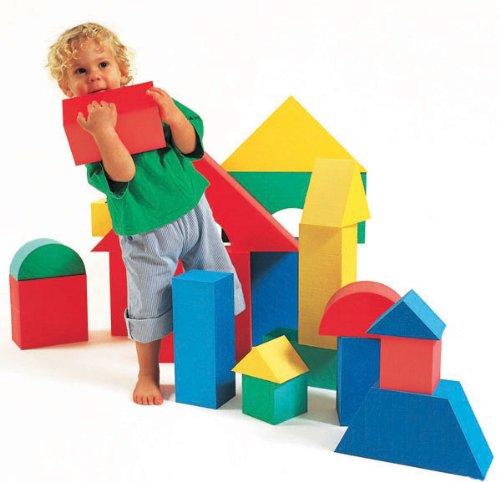 Edushape Giant Blocks, 16 Piece