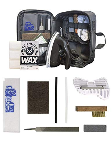 Demon Complete Basic Tune Kit with Wax- Everything Needed to do a Basic Tune and Wax for Your Skis and Snowboard