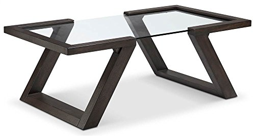 Magnussen Visby Rectangular Coffee Table in Espresso Finish