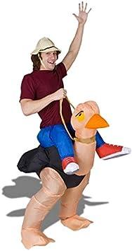 Traje aventurero mochila traje inflable de avestruz: Amazon.es ...