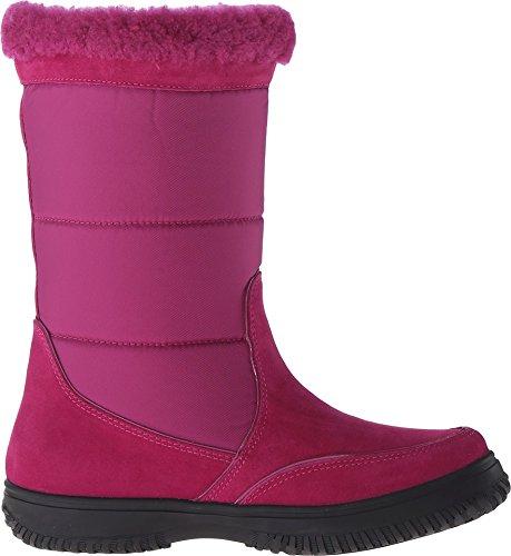 Coach Vrouwen Sherman Handtekening Koude Weer Boot Cranberry / Cranberry Suede / Nylon