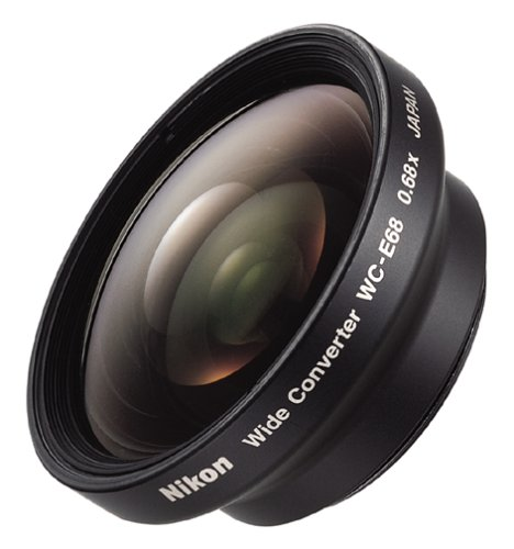 Nikon WC E68 Wide Angle Converter Lens for Coolpix 4300 4500