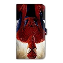 Leather flip case Galaxy Core 4G superheros - - spiderman invers B -