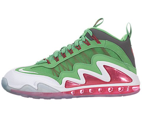 Nike Men's Air Max 360 Diamond Griff Gmm Grn/White/Drk Gry/Atmc Rd Training Shoes 9.5 Men US (Nike Diamond Cross)