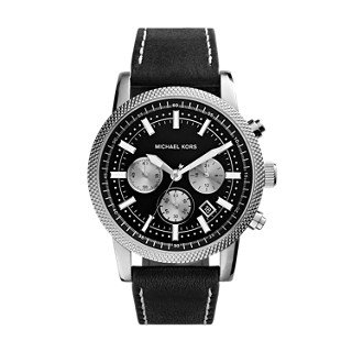 Michael Kors Silver-Tone Scout Men's Watch