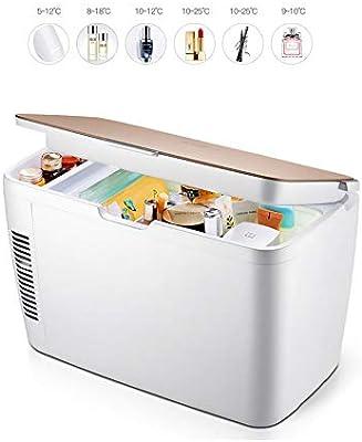 PXQ Refrigerador del Coche Incubadora de cosméticos Portátil de ...