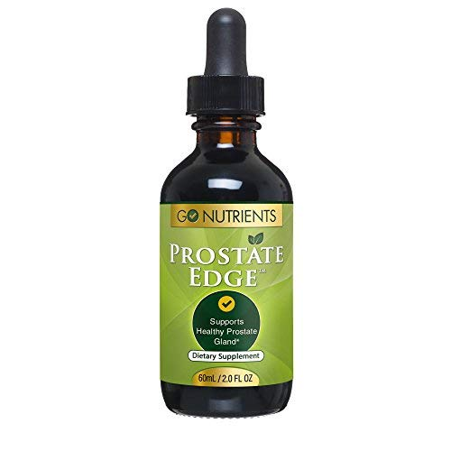 (Prostate Edge - Prostate Supplement for Men with Pygeum Africanum, Saw Palmetto Plus More - 2 oz Liquid Drops)