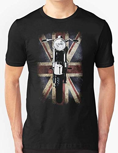 Classic Vintage British BSA Motor Cycle T-Shirt Custom For Men and Women