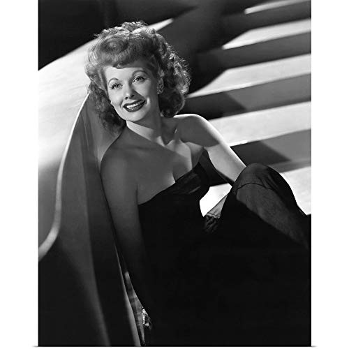 GREATBIGCANVAS Poster Print Entitled Lucille Ball, 1943 by 16