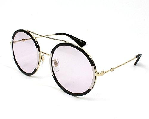 Gucci GG0061S 006 (Black - Pink fuschia fuchsia with Pink fuschia fuchsia lenses)