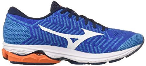 mizuno men's wave rider 22 knit running shoe