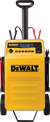 dewalt dxaec210 70 amp rolling battery charger with 210 amp engine start and 2 amp maintainer. Black Bedroom Furniture Sets. Home Design Ideas